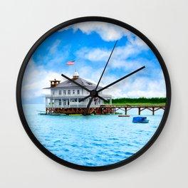 Mobile Yacht Club - Alabama's Historic Gulf Coast Wall Clock