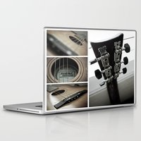 guitar Laptop & iPad Skins featuring Guitar by TJAguilar Photos