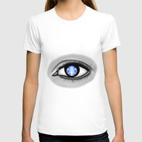 starbucks T-shirts featuring Starbucks Eye by Miguel Angel