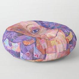 Variations On Botticelli's Venus – No. 2 Floor Pillow