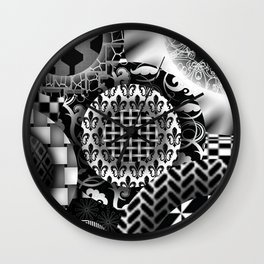 Witch Inspired Design Wall Clock