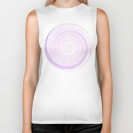 Re-Created Spin Painting No. 46 by Robert S. Lee Biker Tank