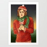 sam winchester Art Prints featuring Sam Winchester by Sandstiel