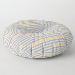 Breaking Stripes Floor Pillow