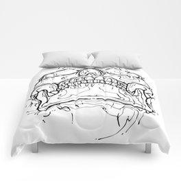Carnibal / Ink Skull / Black / S Comforters