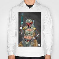 boba fett Hoodies featuring Boba Fett by Mainsink