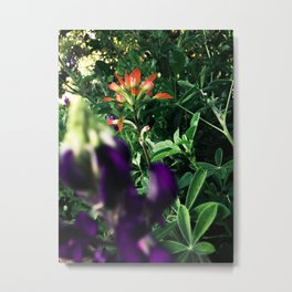Garden is a Feast of Blossom Metal Print