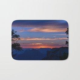Colorful Sunset - North_Rim, Grand_Canyon, AZ Bath Mat