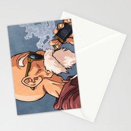 kame vape Stationery Cards