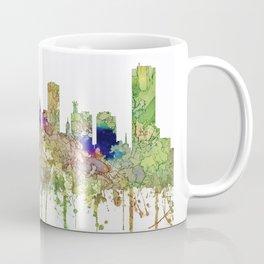 Buffalo, New York Skyline SG - Faded Glory Coffee Mug