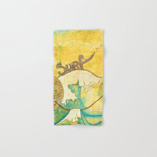 Surf avec la VIE Hand & Bath Towel
