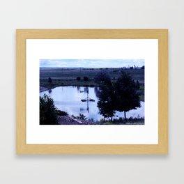 A Little Pond Framed Art Print