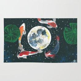 The moon Rug