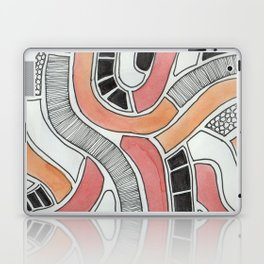 graphic snakes Laptop & iPad Skin