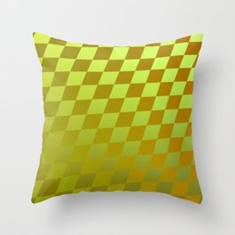 Pattern by squares 4 Throw Pillow