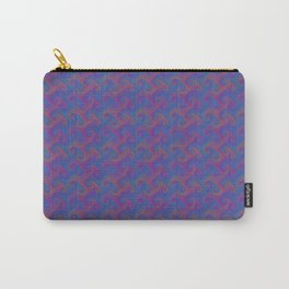 Colorful Trippy Swirly Pattern Carry-All Pouch