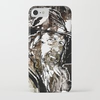 gandalf iPhone & iPod Cases featuring Gandalf by Patrick Scullin