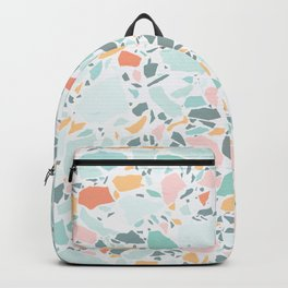 Modern Pastel Terrazzo / Ice Cream Palette Backpack