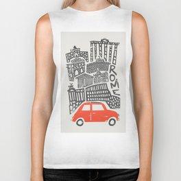 Rome Cityscape Biker Tank