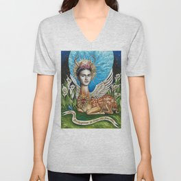 Wings to fly Unisex V-Neck