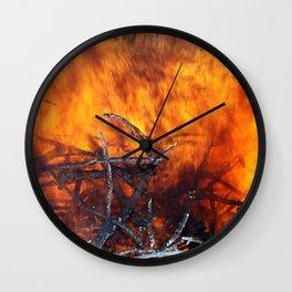 Feuer Wall Clock
