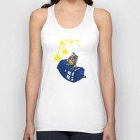 kirby Tank Tops featuring Dr. Kirby by Macaluso