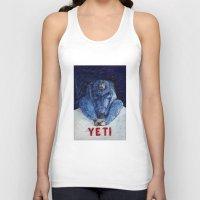yeti Tank Tops featuring Yeti by ----