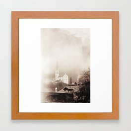 Foggy Oetz Framed Art Print