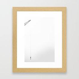 Crane - K3 Framed Art Print