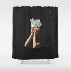 Crystal Visions I Shower Curtain