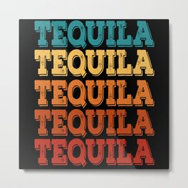 Happy Cinco De Mayo Tequila Metal Print