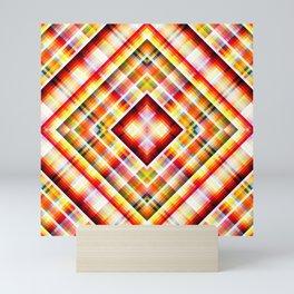 Colorful Yoga Design Spearfinger Mini Art Print