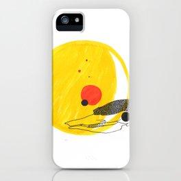 Desert Sun Skeleton iPhone Case