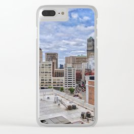 Grit & Color Clear iPhone Case