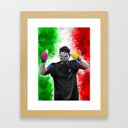 Gianluigi Buffon - Italy Framed Art Print
