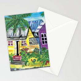 Homes, Sweet Island Homes Stationery Cards