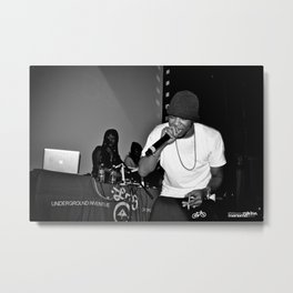 Live from New Jet City: Curren$y pt. 2 Metal Print