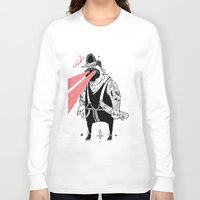 the dude Long Sleeve T-shirts featuring dude by Dávid Kurňavka