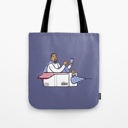 Can Ye Touch The Sky - Purple Tote Bag