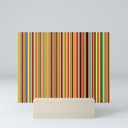 Old Skool Stripes - Bold - Extra Wide Mini Art Print