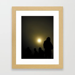 Bali Fog Framed Art Print