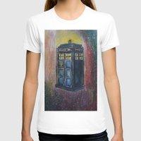 tardis T-shirts featuring TARDIS by EricaWise