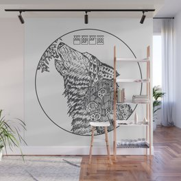 The Howling - Dark Variant Wall Mural