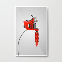 tattoo zapper. Metal Print