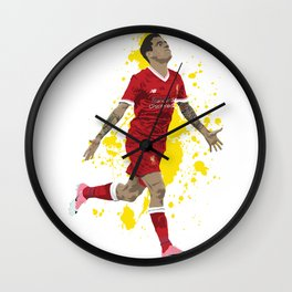 Philippe Coutinho - Liverpool Wall Clock