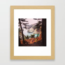 Big Sur California  Framed Art Print