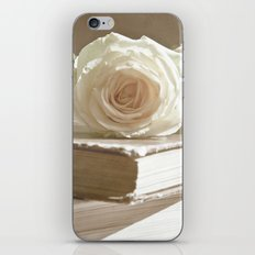 roses and books iPhone & iPod Skin