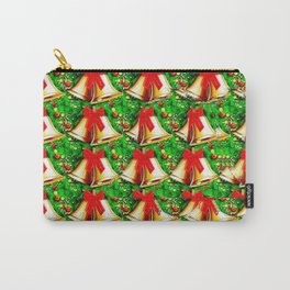 Christmas Bells Stereogram Carry-All Pouch