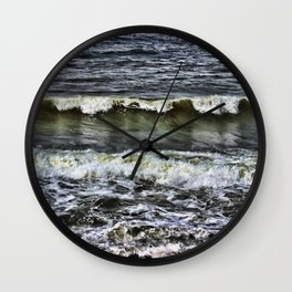 A Wave of reflection Wall Clock