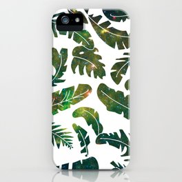 Starry Starry Leaves iPhone Case